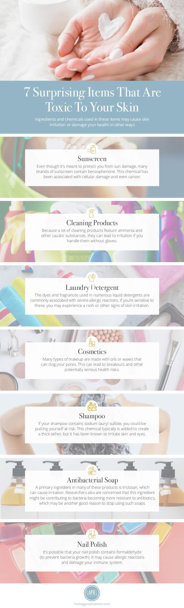 skin toxic items