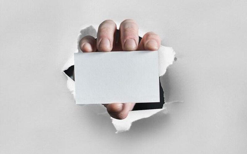 Steps for Designing a Business Card